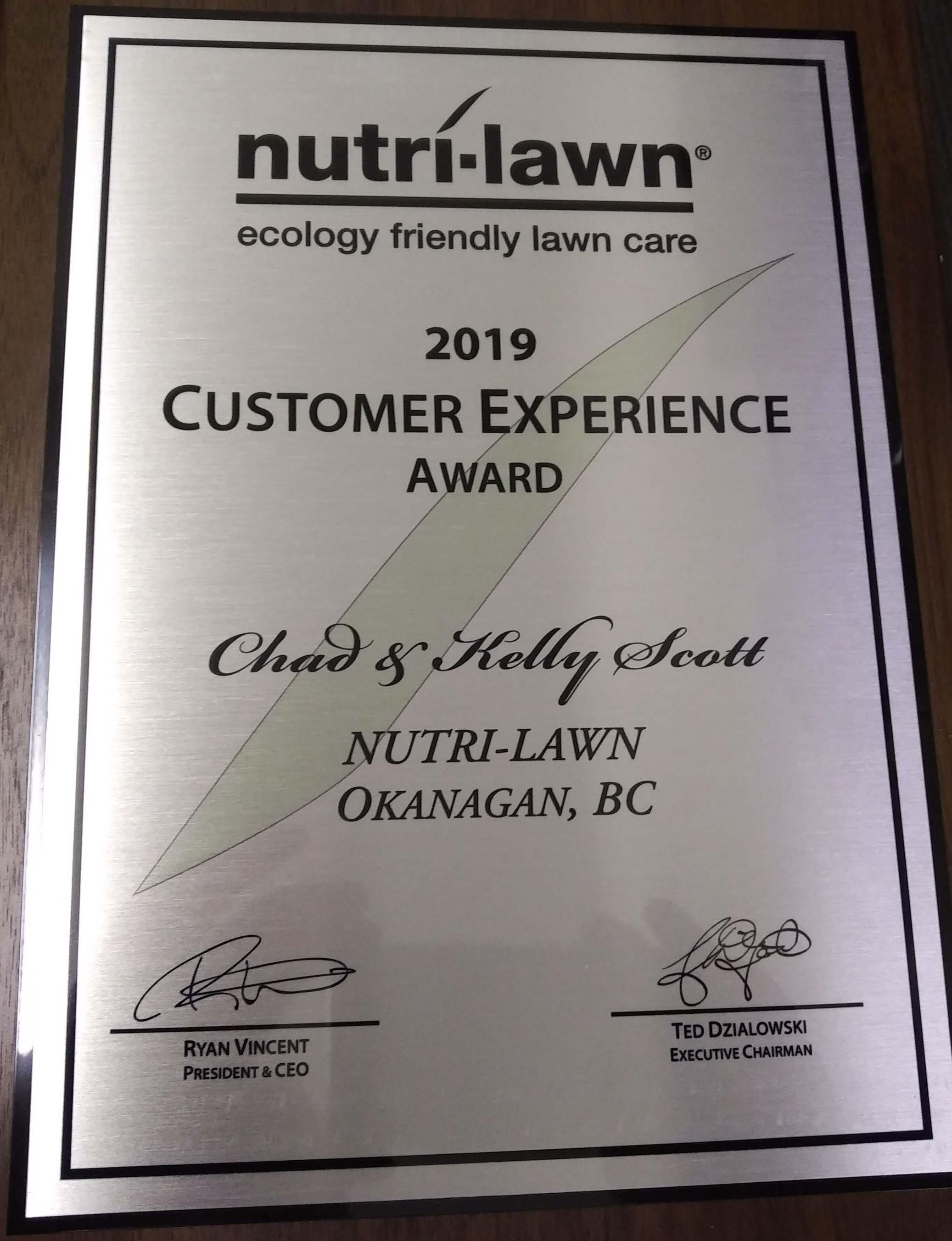 2018 Service Excellence Award - Website