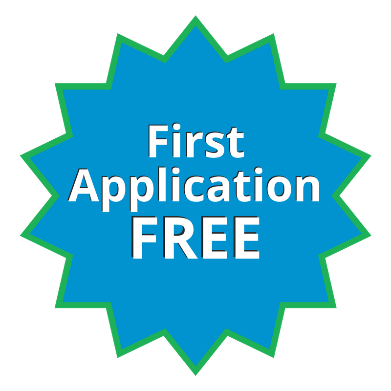 Get your first application FREE!