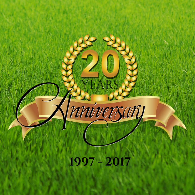 Celebrating 20 years of lawn care