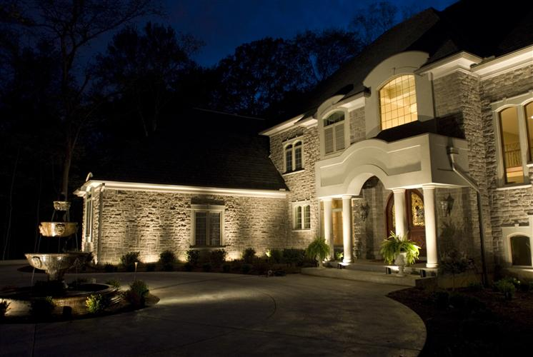 Uplighting on your home