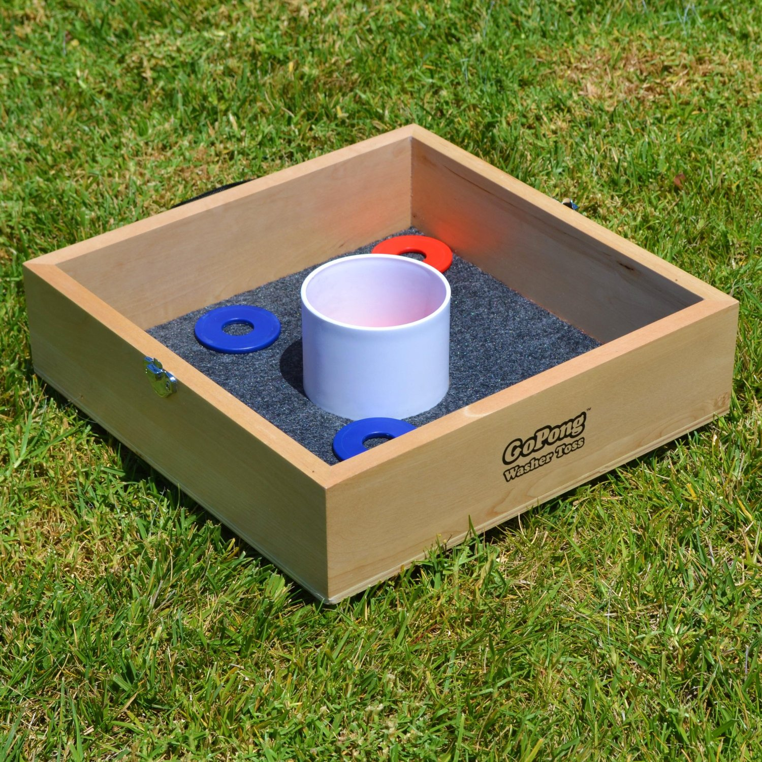 Summer Fun! - Washer toss (lawn games) - Featured Image
